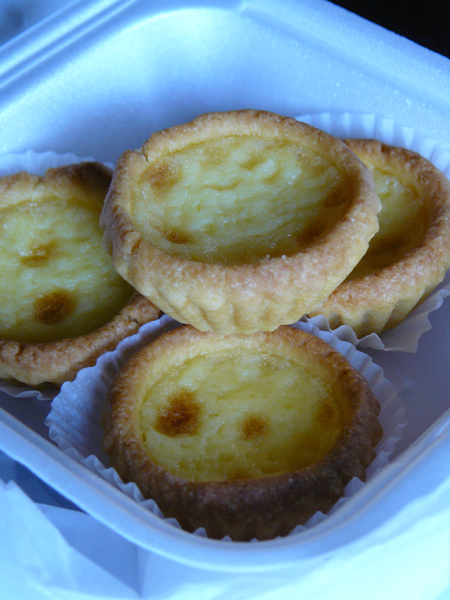 What do you know about Portuguese Chinese Egg Tarts?