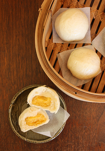 Egg Custard Buns Recipe (Lai Wong Bao)