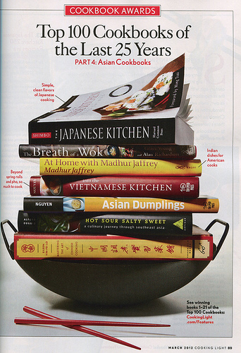 Asian Dumplings among Top 100 Cookbooks of Past 25 Years!